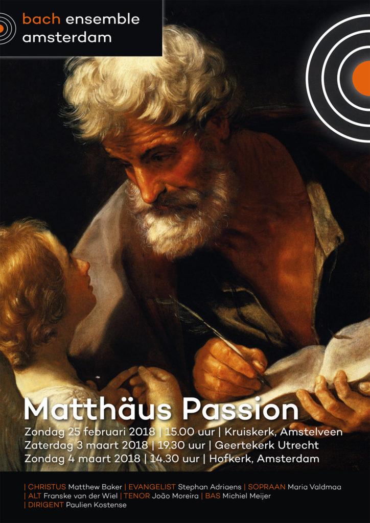 BEA Matthaüs Passion 2018 Flyer